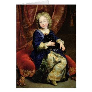 Portrait of Philippe de France Card