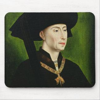 Portrait of Philippe le Bon  Duc de Bourgogne Mousepad