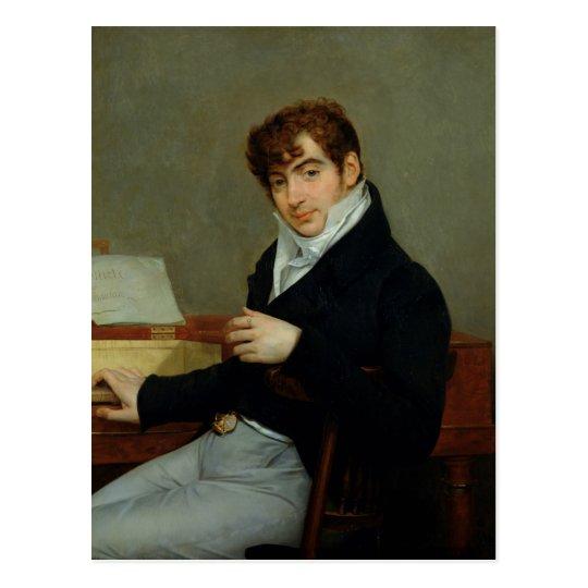 Portrait of Pierre Zimmermann  1808 Postcard