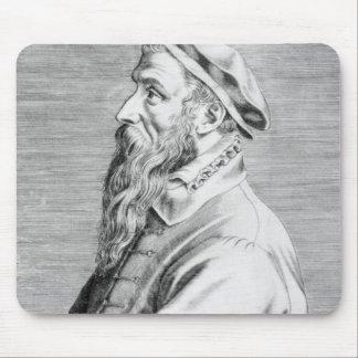 Portrait of Pieter Brueghel the Elder Mouse Pad