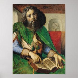 Portrait of Plato  c.1475 Poster