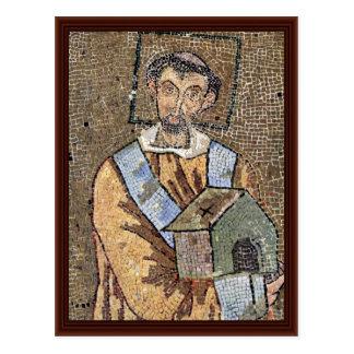 Portrait Of Pope John Vii Post Card