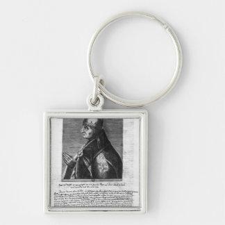 Portrait of Pope John XXII Keychain