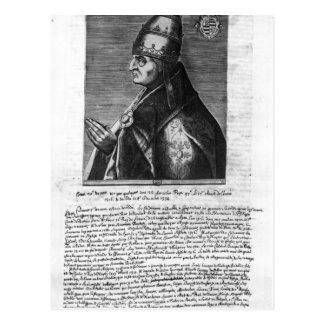 Portrait of Pope John XXII Postcard