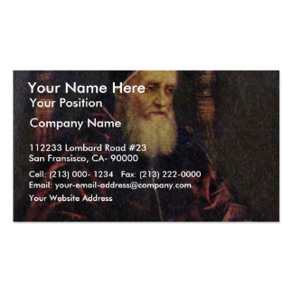 Portrait Of Pope Julius Ii By Raffael Pack Of Standard Business Cards