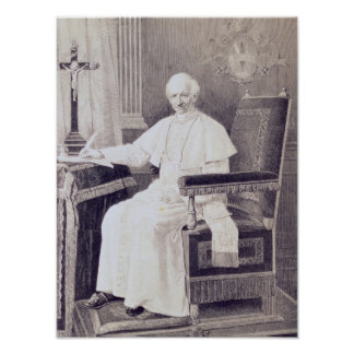 Portrait of Pope Leo XIII Poster