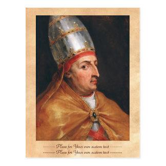 Portrait of Pope Nicholas V Peter Paul Rubens Postcard