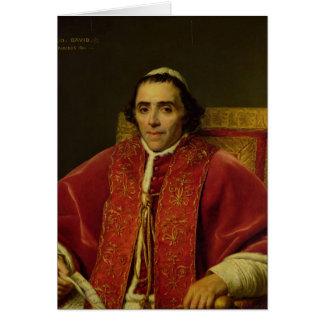 Portrait of Pope Pius VII , 1805 Card