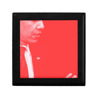 Portrait of President Barack Obama 38c Small Square Gift Box