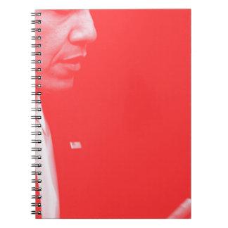 Portrait of President Barack Obama 38c Spiral Notebooks