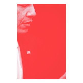 Portrait of President Barack Obama 38c Stationery