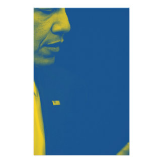Portrait of President Barack Obama 38d Stationery