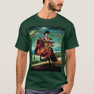 Portrait Of Prince Balthasar Carlos On Horseback T-Shirt
