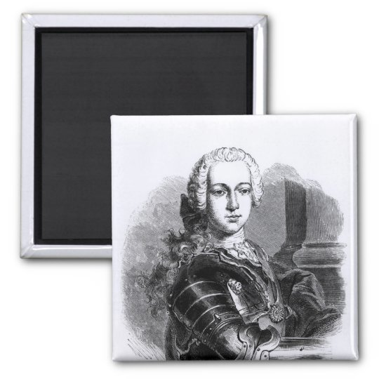 Portrait of Prince Charles Edward Stuart Magnet