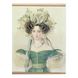 Portrait of Princess Elizabeth Vorontsova Postcard