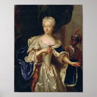 Portrait of Princess Poster
