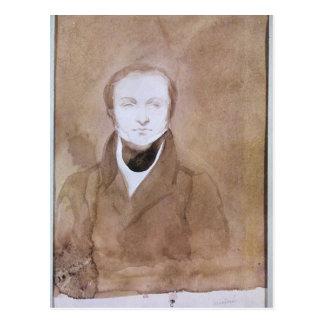 Portrait of Prosper Merimee Postcard