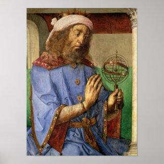 Portrait of Ptolemy, c.1475 Poster
