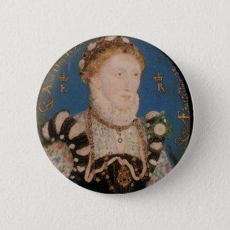 Portrait of Queen Elizabeth I, 1572 6 Cm Round Badge