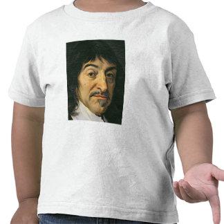 Portrait of Rene Descartes  c.1649 Tshirts