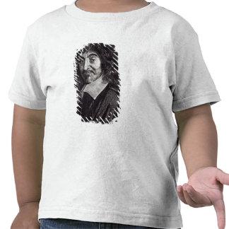 Portrait of Rene Descartes T-shirts