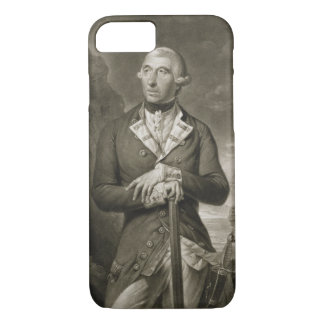 Portrait of Richard Kempenfelt (1718-82) Rear-Admi iPhone 7 Case