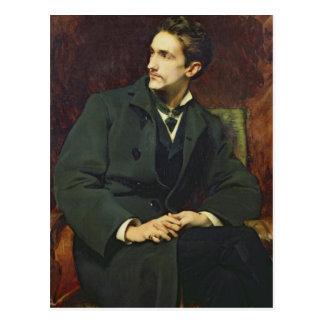 Portrait of Robert Postcard