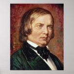 Portrait of Robert Schumann Print
