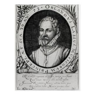 Portrait of Roland de Lassus Postcard