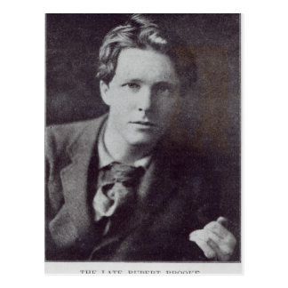 Portrait of Rupert Brooke Postcard