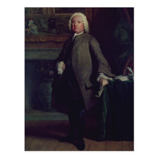 Portrait of Samuel Richardson  1750 Postcard