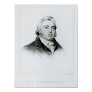 Portrait of Samuel Taylor Coleridge Poster