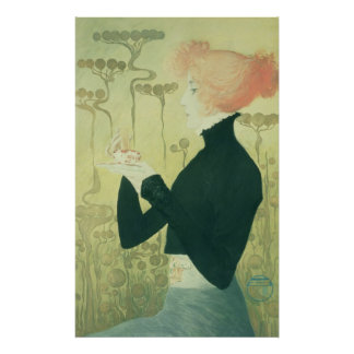 Portrait of Sarah Bernhardt Poster