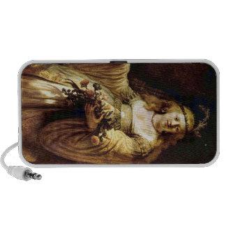 Portrait of Saskia as Flora by Rembrandt Travel Speaker
