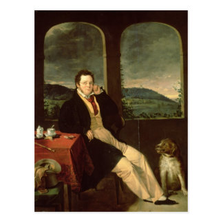 Portrait of Schubert Postcard