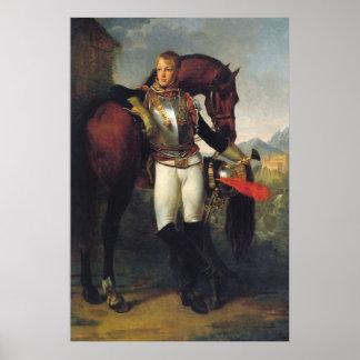 Portrait of Second Lieutenant Charles Legrand Poster