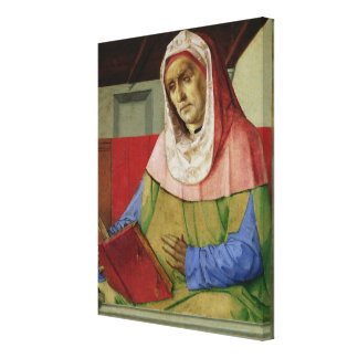 Portrait of Seneca  c.1475 Canvas Print