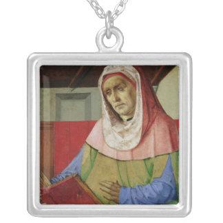 Portrait of Seneca  c.1475 Silver Plated Necklace