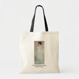 Portrait Of Serena Lederer By Klimt Gustav Bags