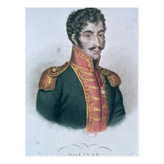 Portrait of Simon Bolivar Postcard