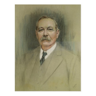 Portrait of Sir Arthur Conan Doyle Postcard
