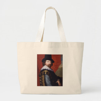 Portrait of Sir Francis Bacon Viscount St Alban Canvas Bags