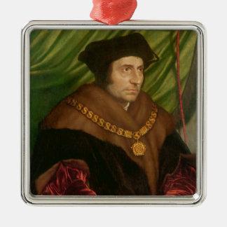 Portrait of Sir Thomas More Metal Ornament
