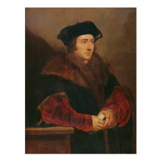 Portrait of Sir Thomas More Postcard