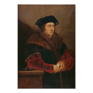 Portrait of Sir Thomas More Poster