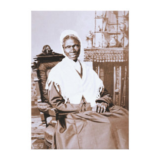 Portrait of Sojourner Truth circa 1870 Canvas Prints