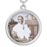 Portrait of Sojourner Truth circa 1870 Round Pendant Necklace