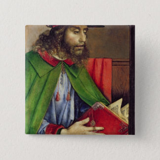 Portrait of Solon  c.1475 15 Cm Square Badge