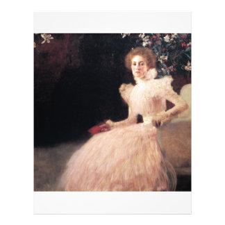 Portrait of Sonja Knips Gustav Klimt Painting Flyer