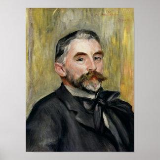Portrait of Stephane Mallarme  1892 Posters